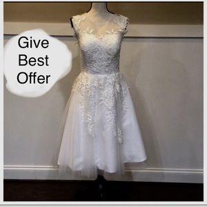 Dresses & Skirts - 🤑BEST OFFER🤑 Short length wedding dress